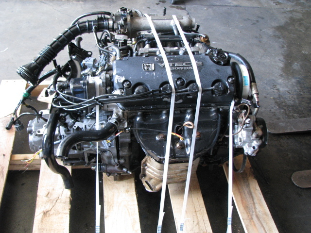 Palletized engine